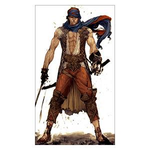 Prince of Persia. Размер: 20 х 35 см